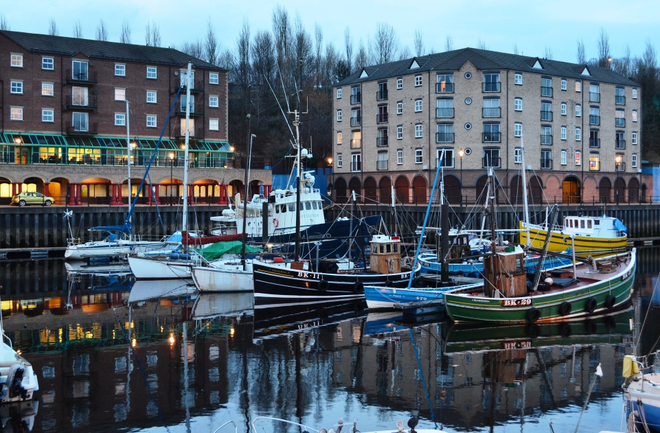 St Peter's marina and flats (Feb 2014)