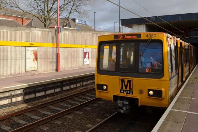 Byker Metro station