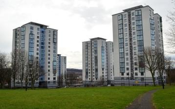 Riverside Dene flats 2014