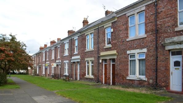 Tyneside flats, South Heaton (Feb 2014)